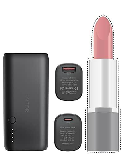 TNTOR - Ultra Mini Powerbank, Dual Output...