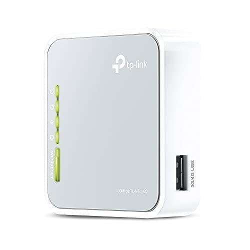 TP-Link TL-MR3020 N300 WLAN Nano mobiler...