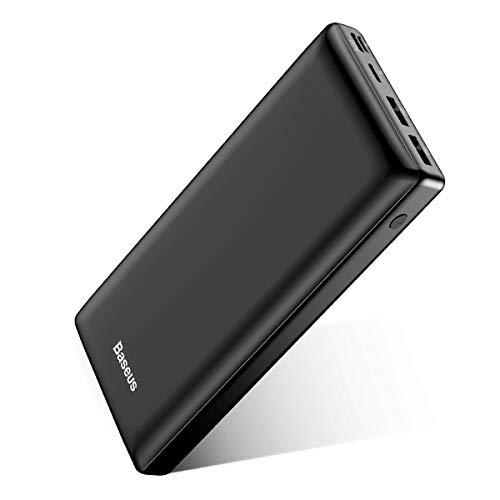 Baseus Power Bank Externer Akku 30000mAh, USB...