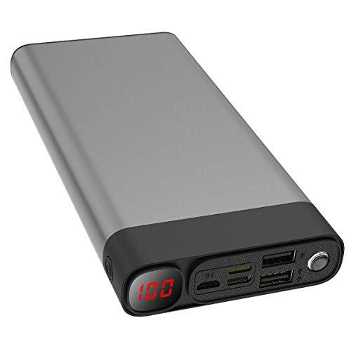 Externer Akku 30000mAh Powerbanks Mobiles...