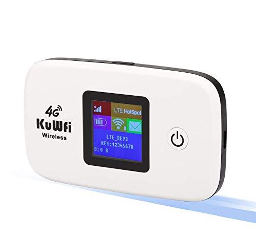 KuWFi Mobiler WLAN Router, Entriegelte...