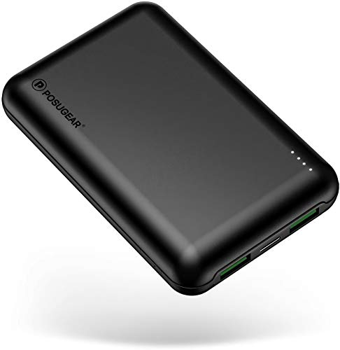 POSUGEAR Powerbank 20000mAh Quick Charge 3.0,...