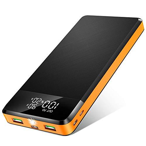 ORITO Powerbank 26800mAh, PD Power Bank USB C...