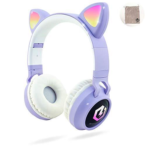 Kinderkopfhörer Bluetooth, PowerLocus Kinder...