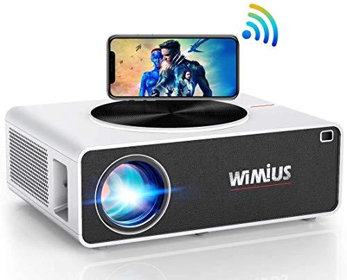 5G WiFi Beamer, WiMiUS 7500 1080P Full HD...