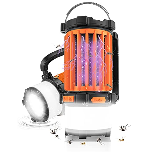 LED Campinglampe KNMY UV-Mückenvernichter...
