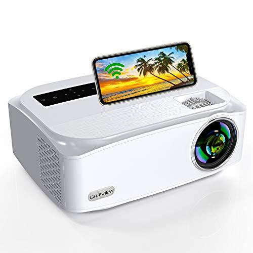 WiFi Beamer, G R O V I E W Native 1080P Video...