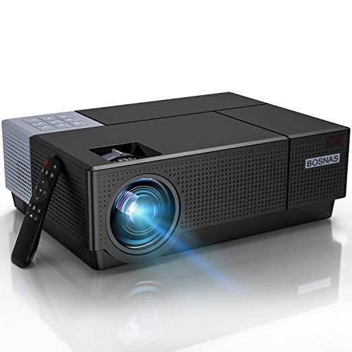Beamer,BOSNAS B7 Full HD 4k Heimkino 1080P...