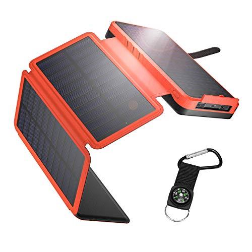 IEsafy Solar Powerbank 26800mAh Solar...