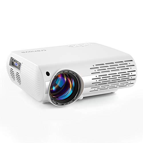 Beamer, 5000 Lux Video Projektor Full HD...