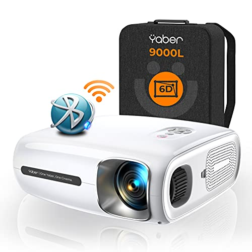 YABER 9000 Lumen Full HD 1080P Beamer WIFI...