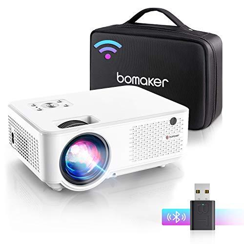 Bomaker mini Beamer C9, 7000 Full HD 1280P...