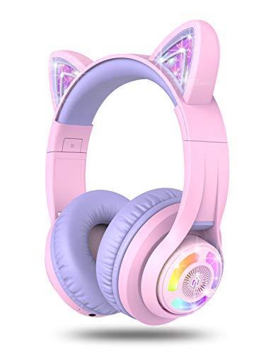 iClever Bluetooth Kopfhörer für Kinder auf...