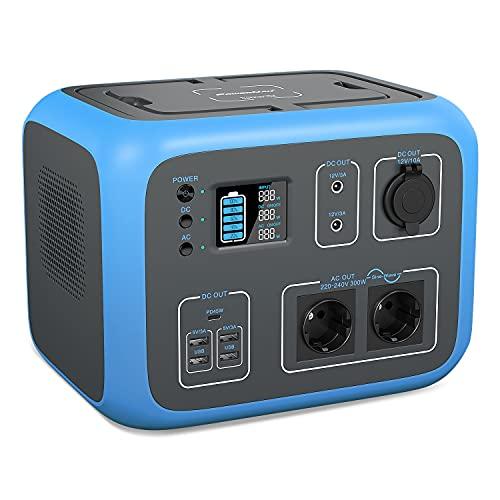 PowerOak Tragbare Powerstation AC50S Mobiler...