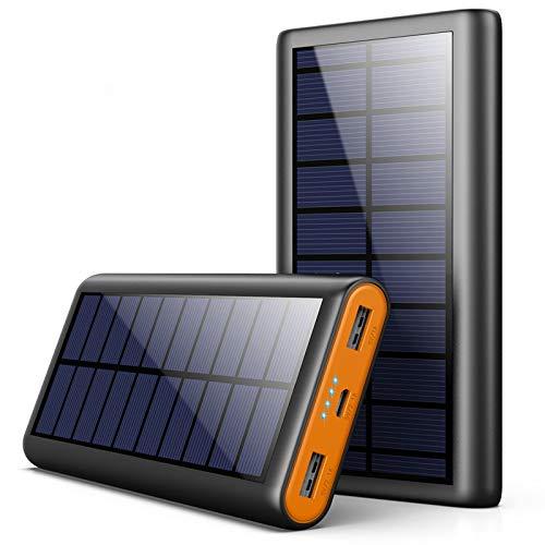 AOPAWA Solar Powerbank 26800mah Neueste Solar...