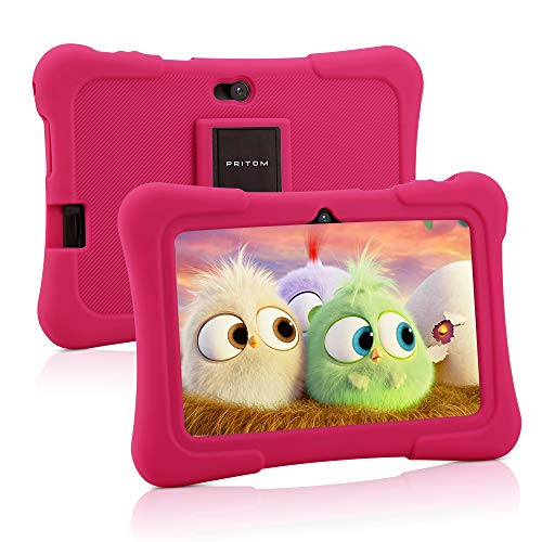 Pritom 7 Zoll Kinder Tablet, Quad Core...