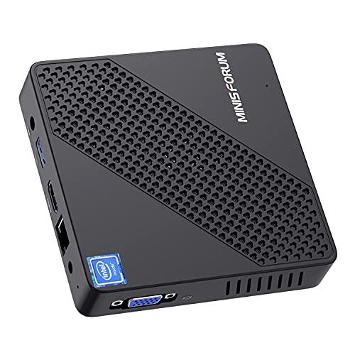 Mini PC Lüfterlos Intel Celeron N4020 (bis...