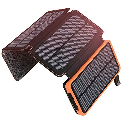 A ADDTOP Solar Powerbank 25000mAh Tragbare...