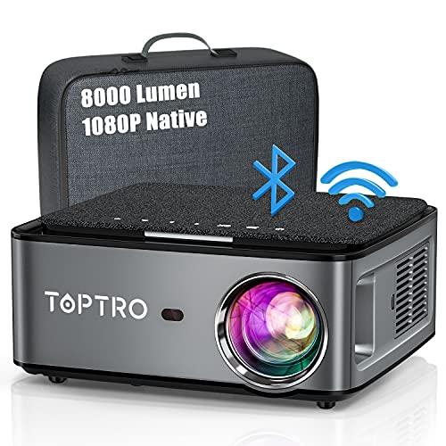 Beamer, 8000 Lumen Beamer Full HD, WiFi...