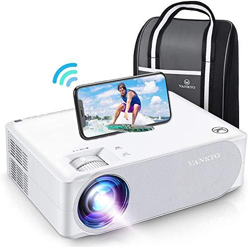 WiFi Beamer 7000 Lux, Native 1080p Beamer...