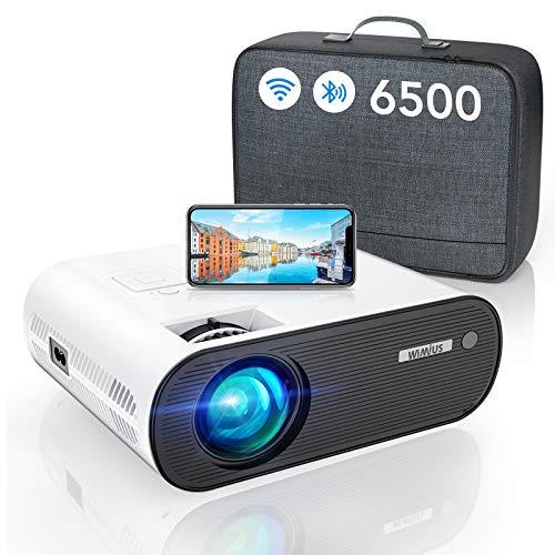WiFi Bluetooth Beamer, WiMiUS LED Video...