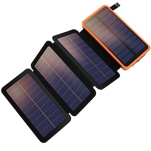 YELOMIN Solar Powerbank 25000mAh Tragbares...