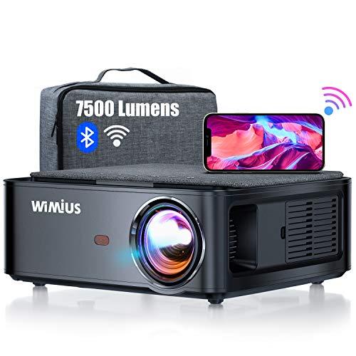 Beamer, WiMiUS 7500 L Full HD 1080P WiFi...